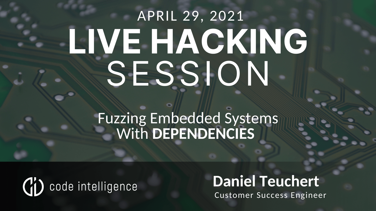 Fuzzing Embedded Systems With Dependencies - Website